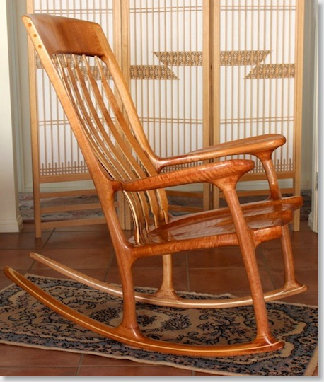 these rocking chairs are for sale and the prices for the time being